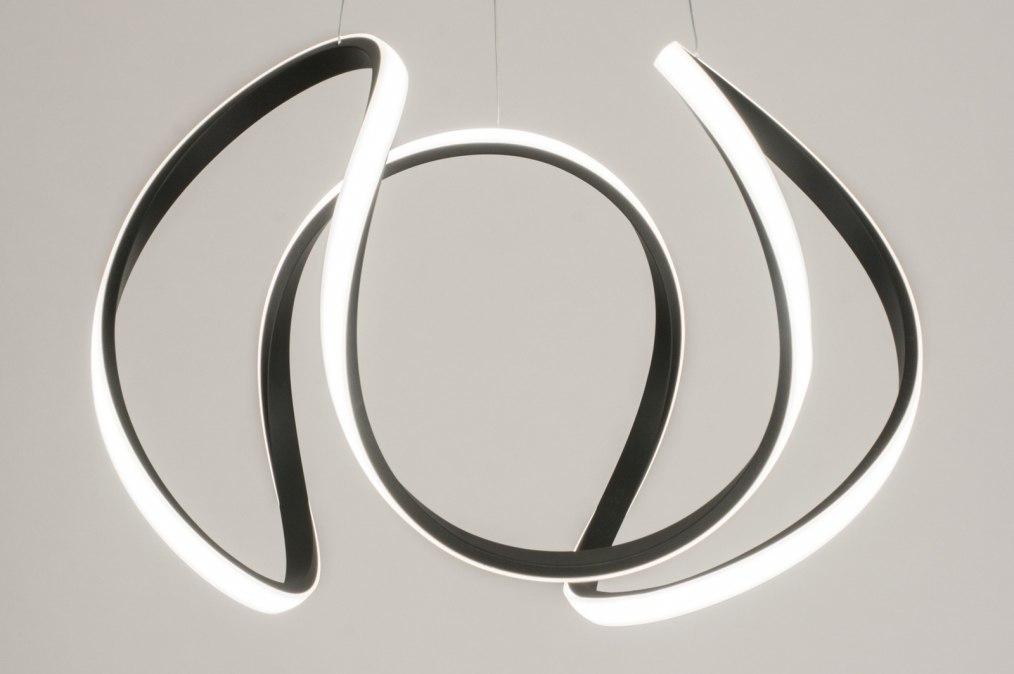 Hanglamp 12483: design, modern, kunststof, metaal #0