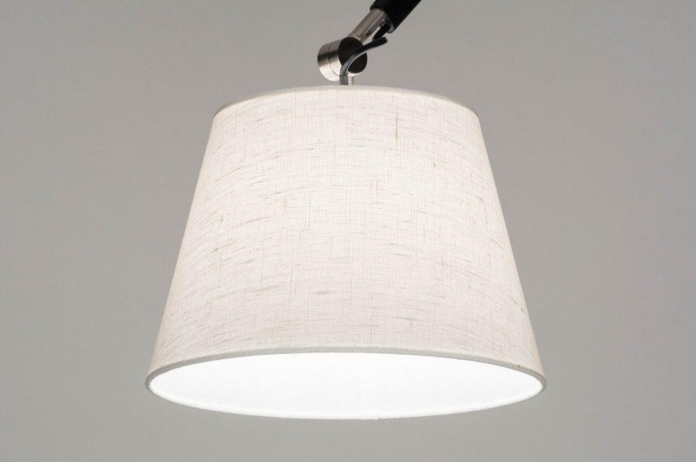 pendelleuchte 12500 modern coole lampen grob stahlgrau weiss. Black Bedroom Furniture Sets. Home Design Ideas