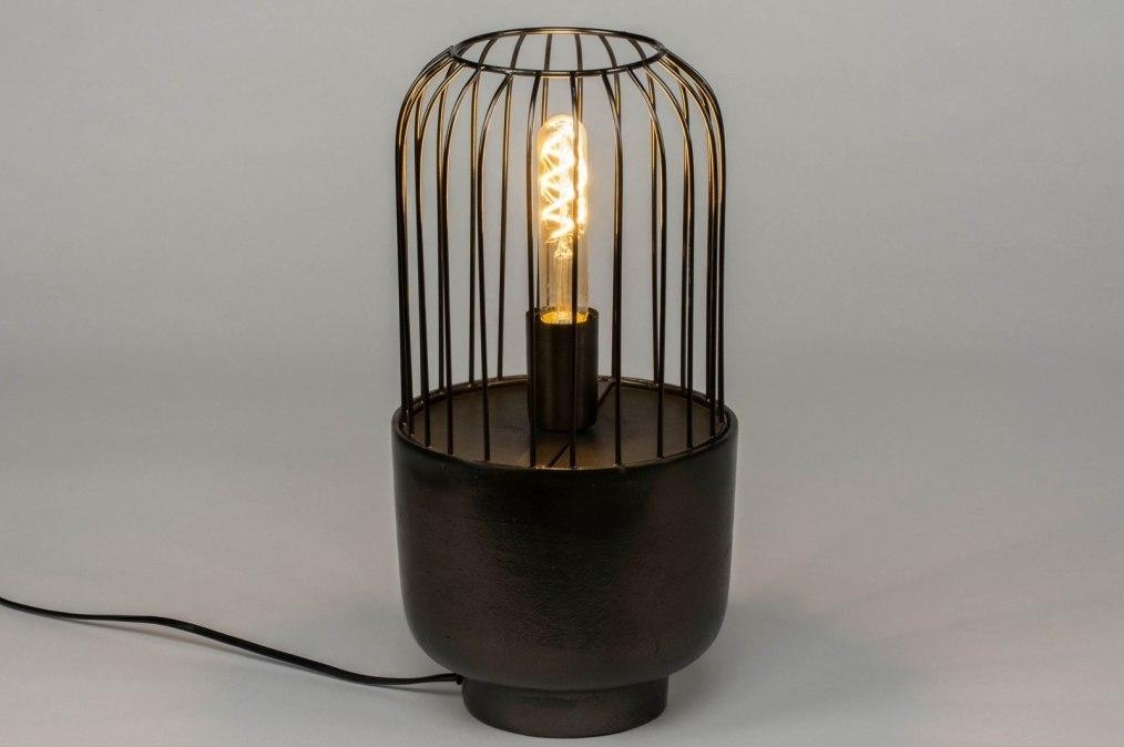 Tafellamp 12566: industrie, look, landelijk, rustiek #0