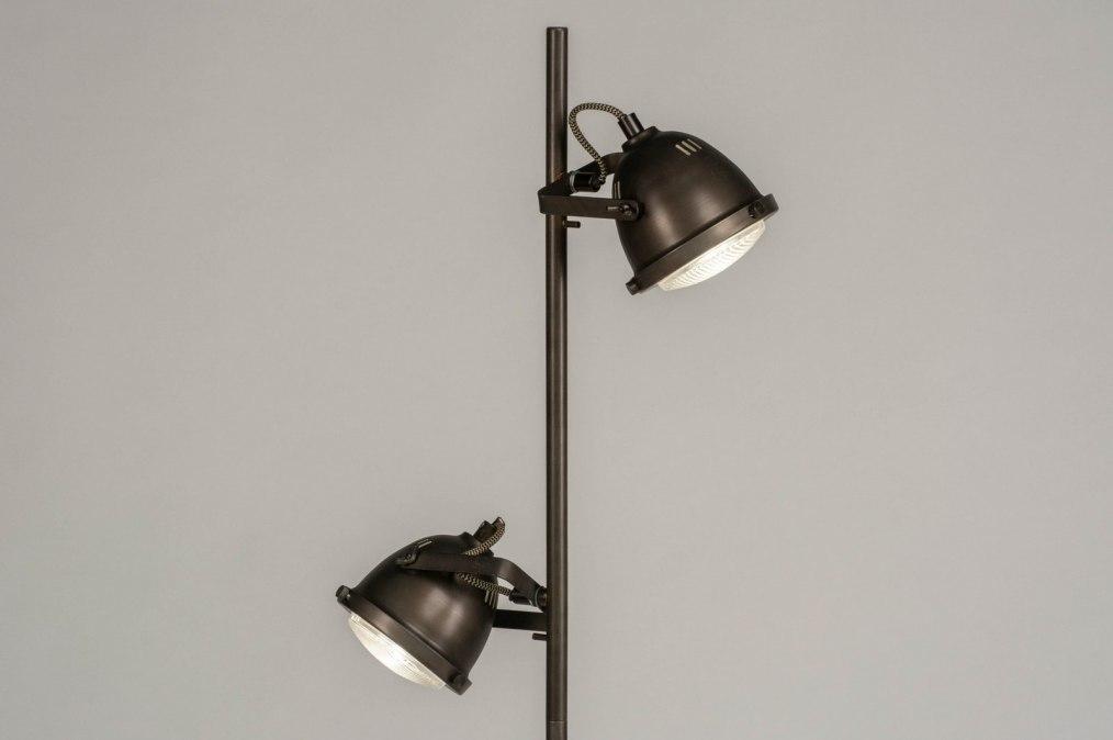 Vloerlamp 12589: industrie, look, landelijk, rustiek #0