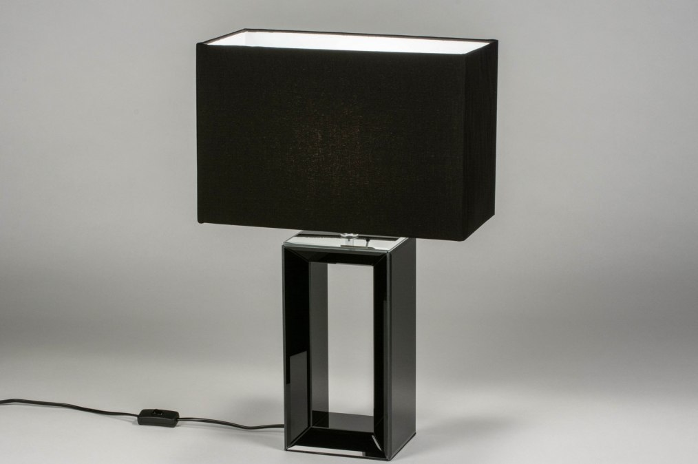 Tafellamp 12625: design, modern, eigentijds klassiek, glas #0
