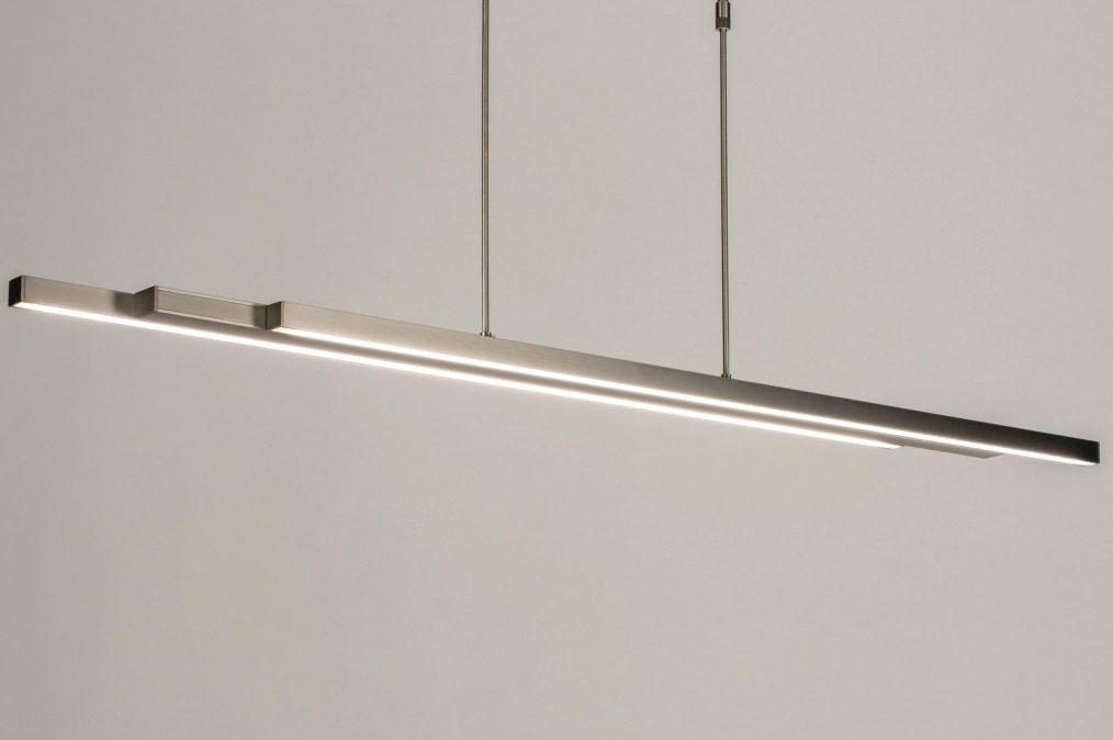 Hanglamp 12671: design, modern, staal rvs, metaal #0