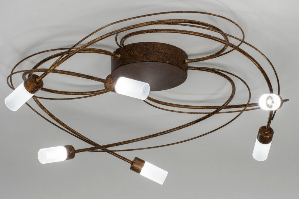 Plafondlamp 12747: landelijk, rustiek, modern, eigentijds klassiek #0