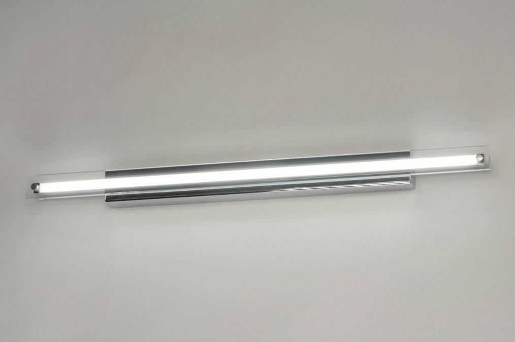Wandlamp 12751: design, modern, glas, helder glas #0