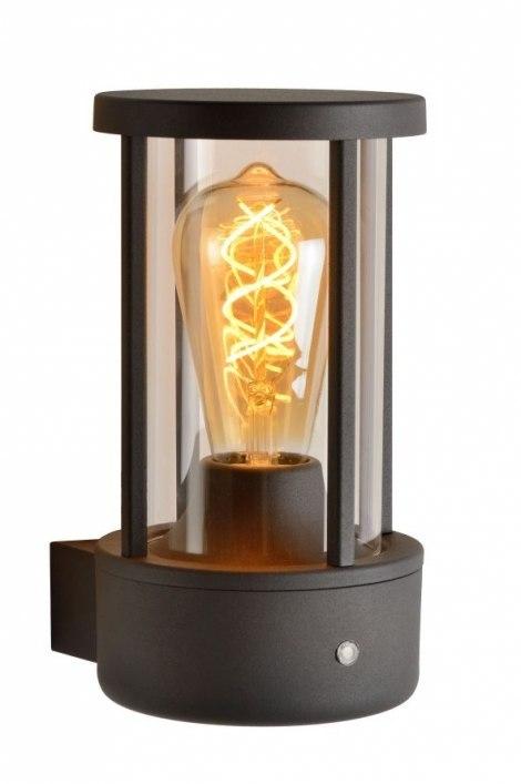Wandlamp 12884: modern, aluminium, metaal, antraciet donkergrijs #0
