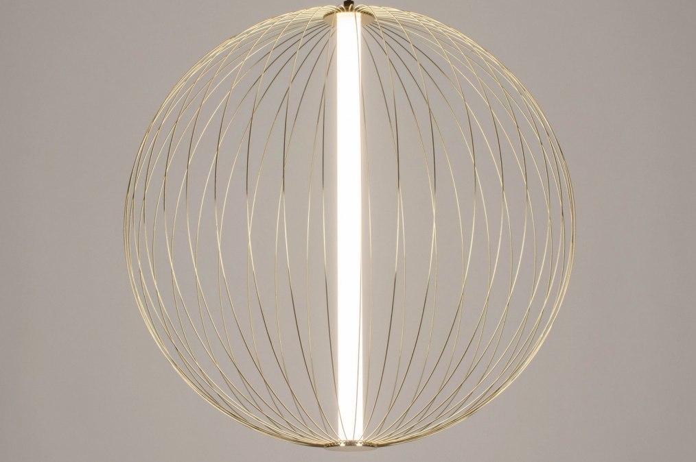 Hanglamp 12886: sale, modern, messing, glanzend #0