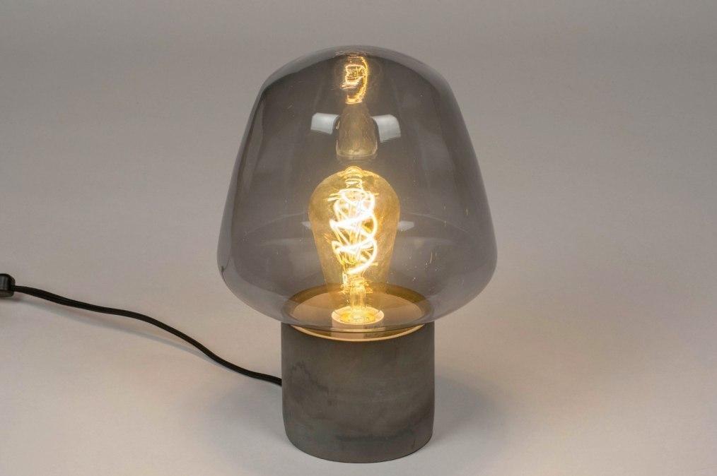 Tafellamp 12901: modern, retro, art deco, glas #0