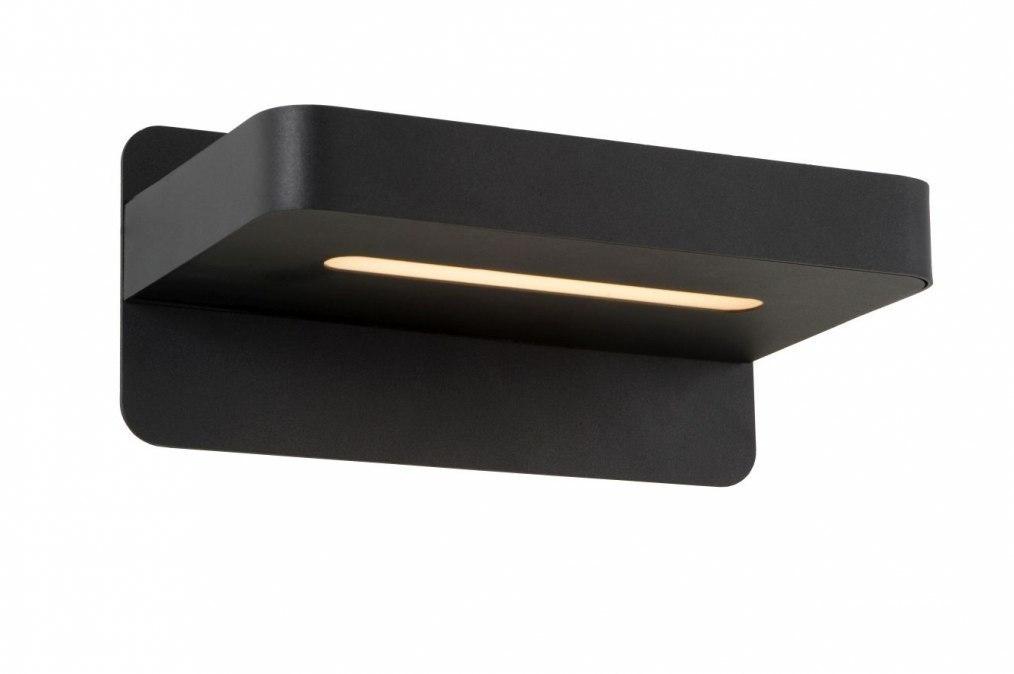 Wandlamp 12906: design, modern, metaal, zwart #0