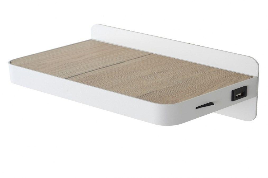 Wandlamp 12907: design, modern, metaal, wit #0
