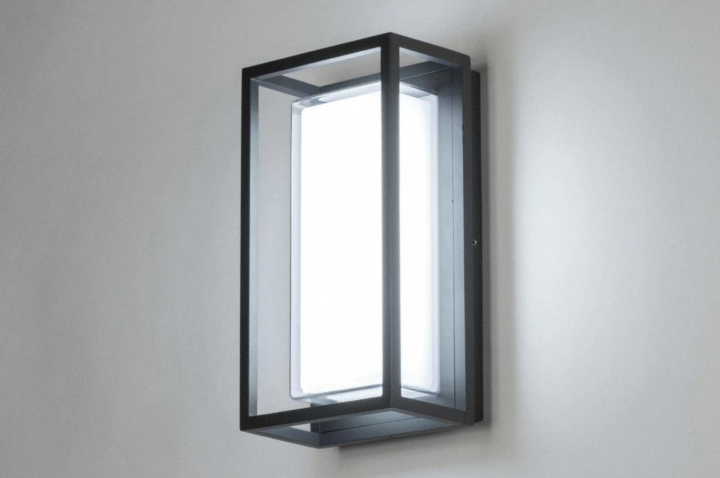 Plafondlamp 12954: modern, aluminium, kunststof, polycarbonaat slagvast #0