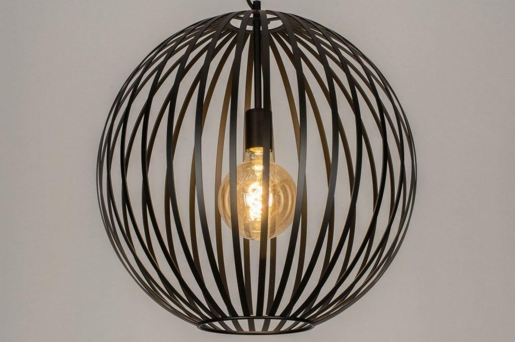 Hanglamp 13000: modern, metaal, zwart, mat #0