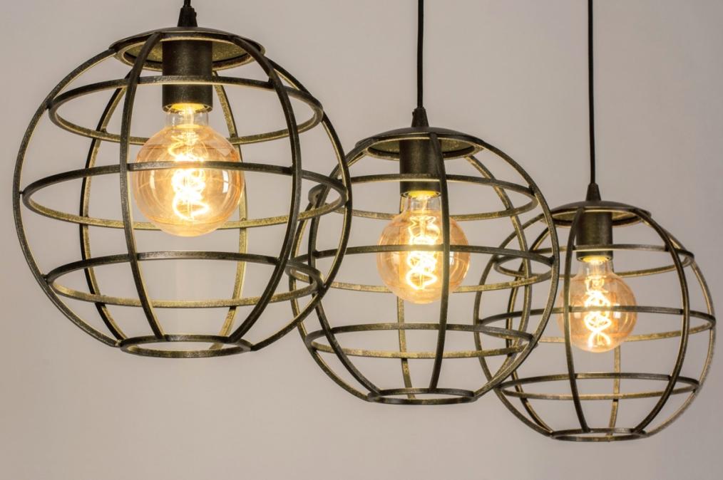 Hanglamp 13002: industrie, look, landelijk, rustiek #0