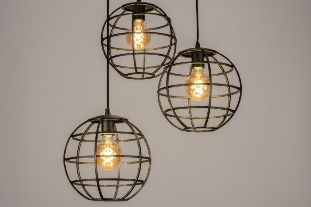 Hanglamp 13003: industrie, look, landelijk, rustiek #0
