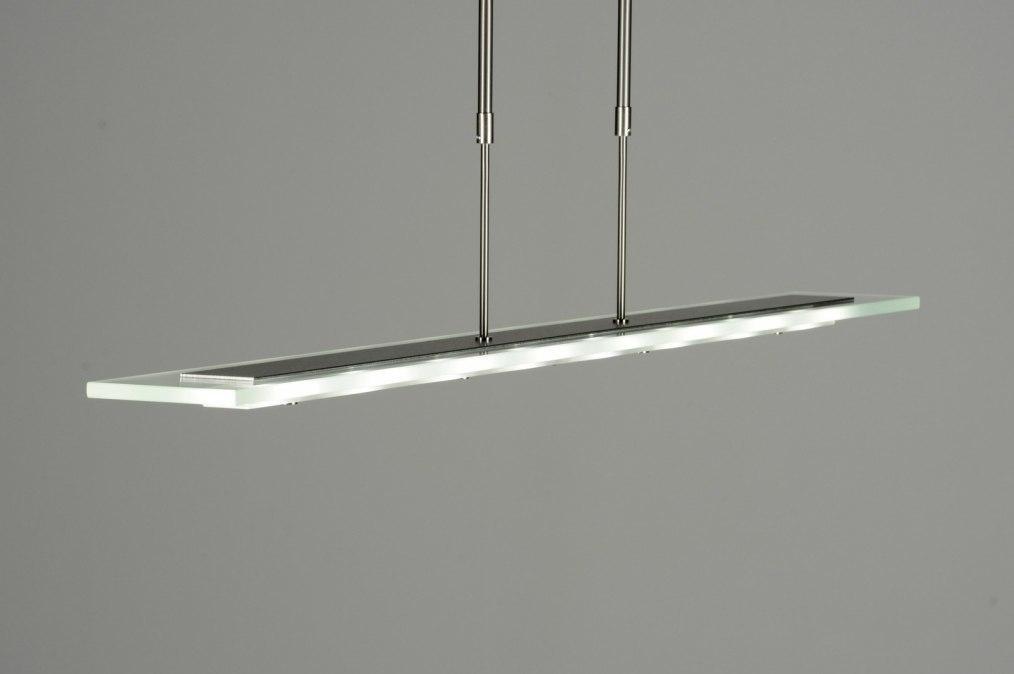 Hanglamp 13022: design, modern, glas, helder glas #0