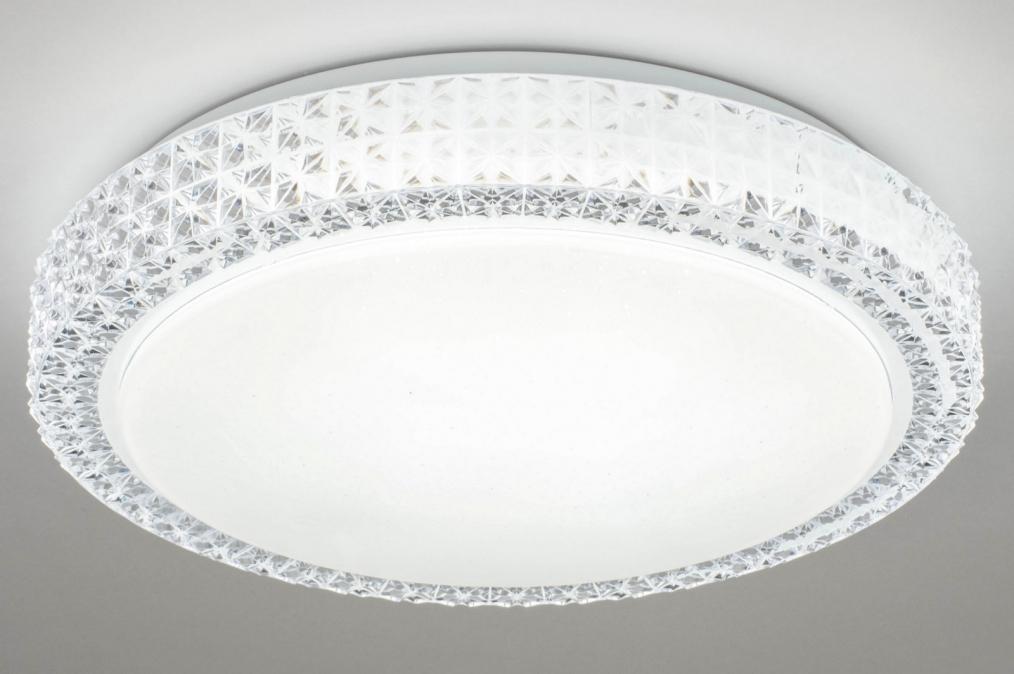 Plafondlamp 13100: modern, retro, eigentijds klassiek, kunststof #0