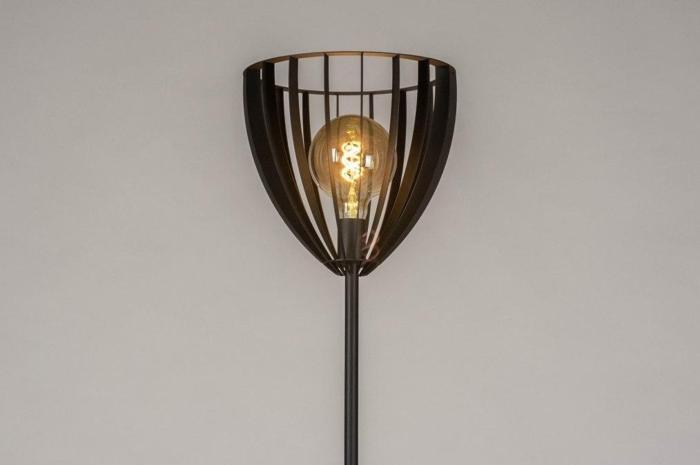 Vloerlamp 13123: industrie, look, modern, metaal #0