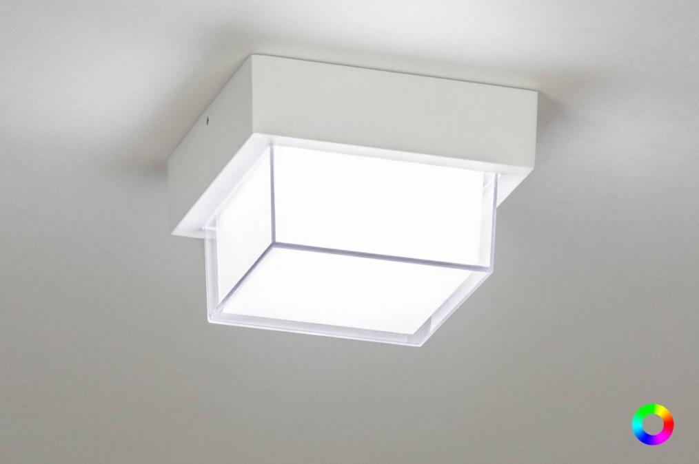 Plafondlamp 13198: sale, modern, aluminium, kunststof #0