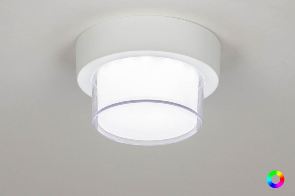 Plafondlamp 13210: sale, modern, aluminium, kunststof #0