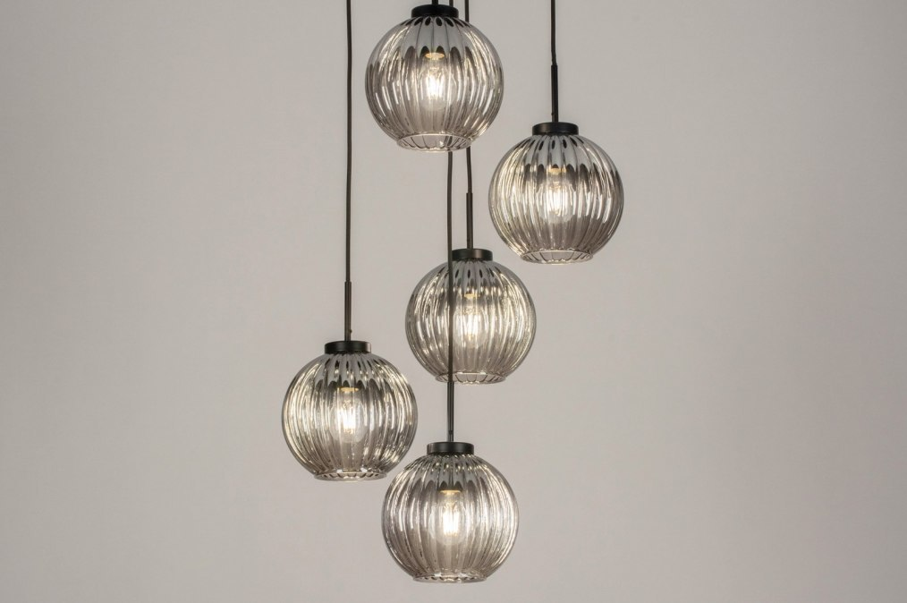 Hanglamp 13218: modern, retro, art deco, glas #0