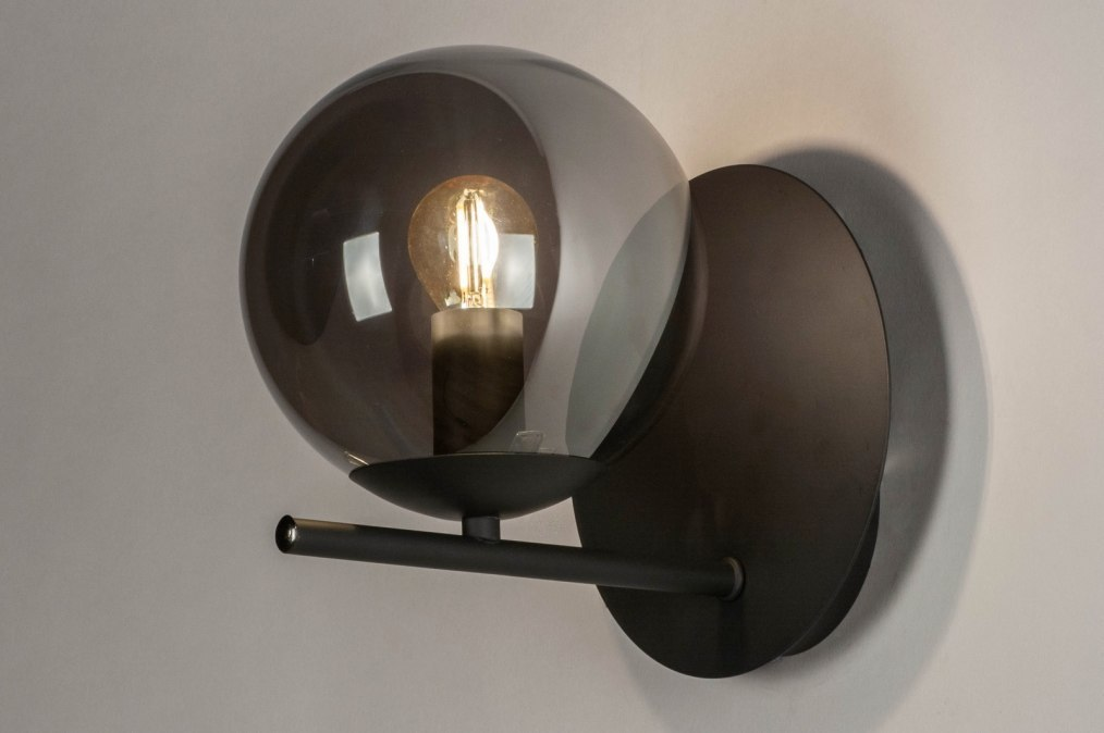 Wandlamp 13257: modern, retro, art deco, glas #0