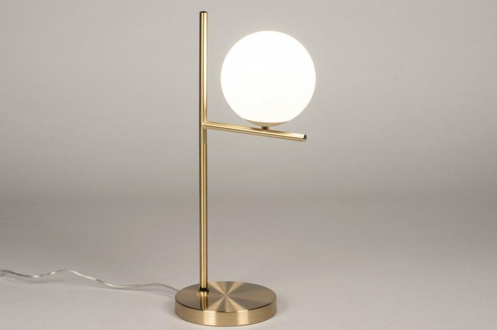 Tafellamp 13260: modern, eigentijds klassiek, art deco, glas #0