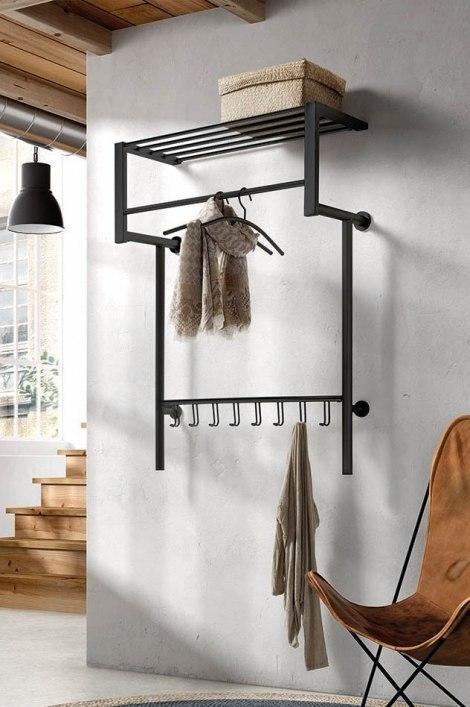 Kapstok 13301: industrie, look, modern, metaal #0
