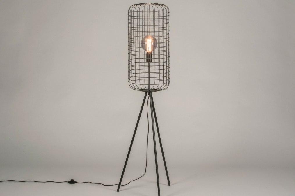 Vloerlamp 13315: industrie, look, landelijk, rustiek #0