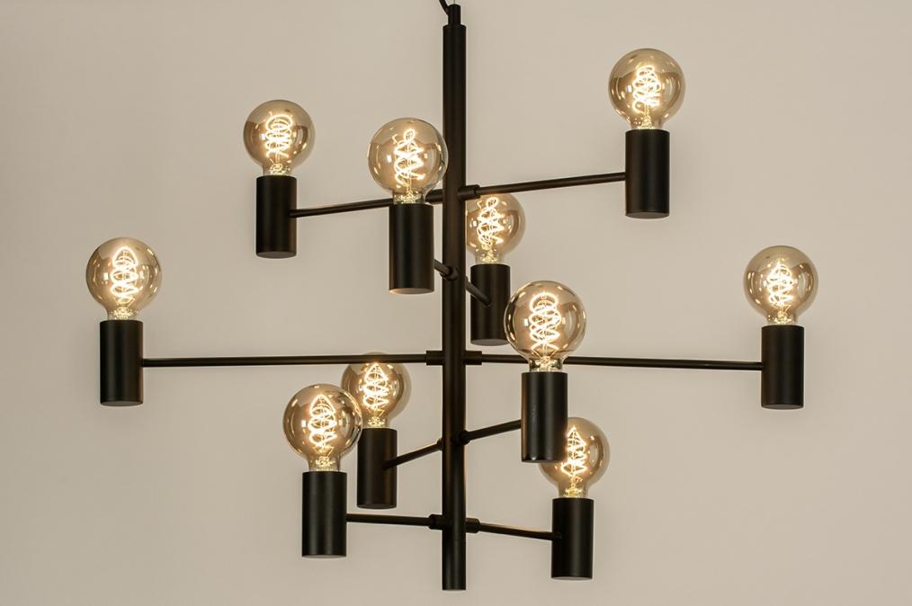 Hanglamp 13318: industrie, look, modern, stoer #0