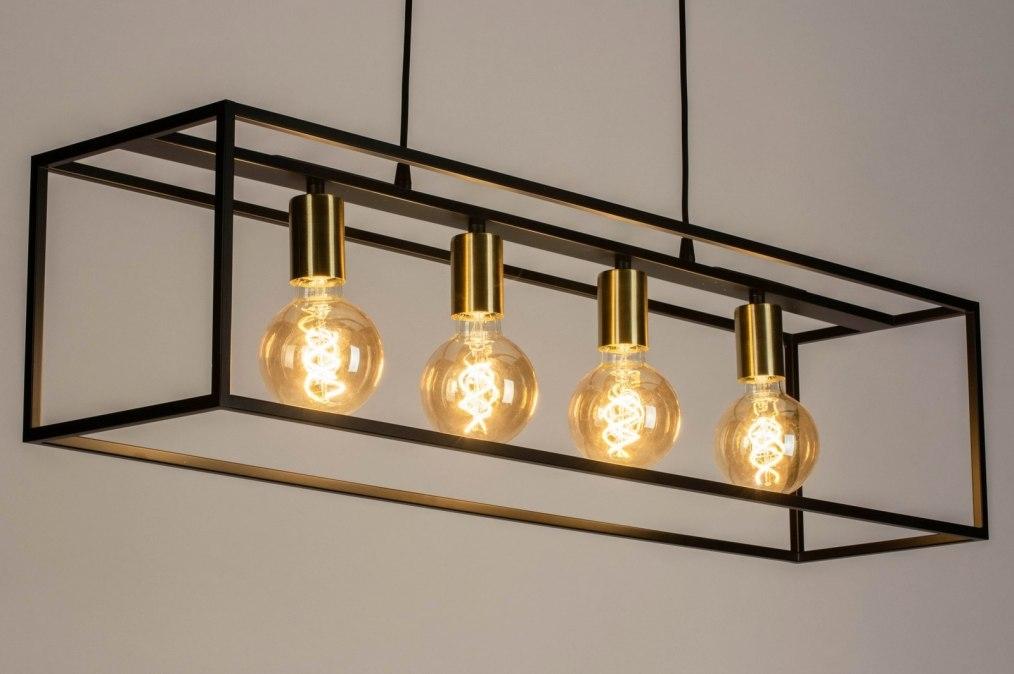 Hanglamp 13337: industrie, look, modern, art deco #0