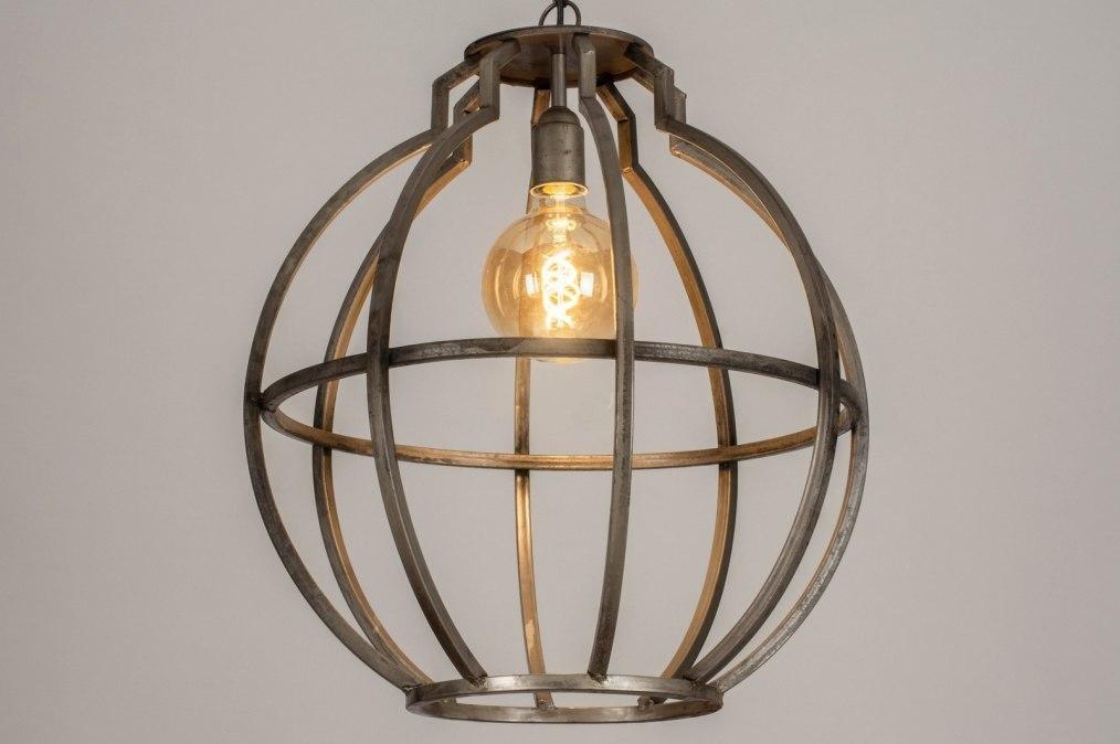 Hanglamp 13370: industrie, look, landelijk, rustiek #0