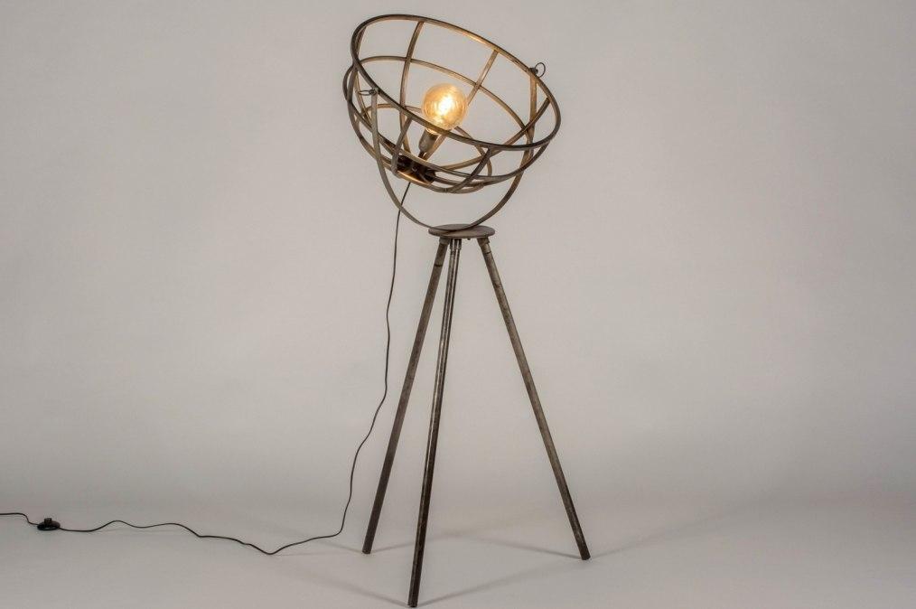 Vloerlamp 13371: industrie, look, landelijk, rustiek #0
