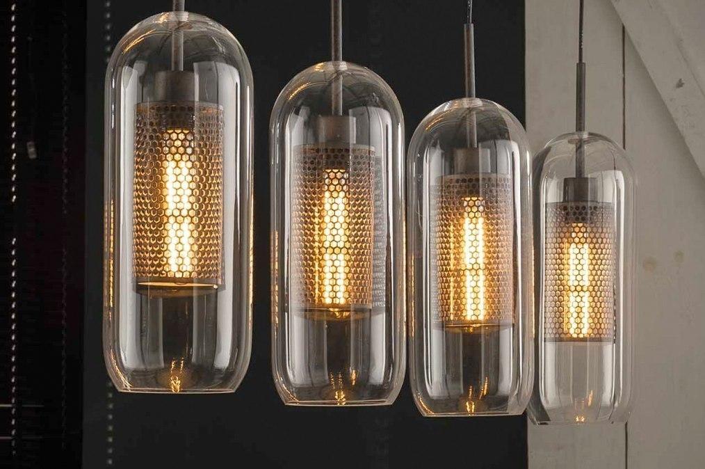 Hanglamp 13372: industrie, look, modern, glas #0