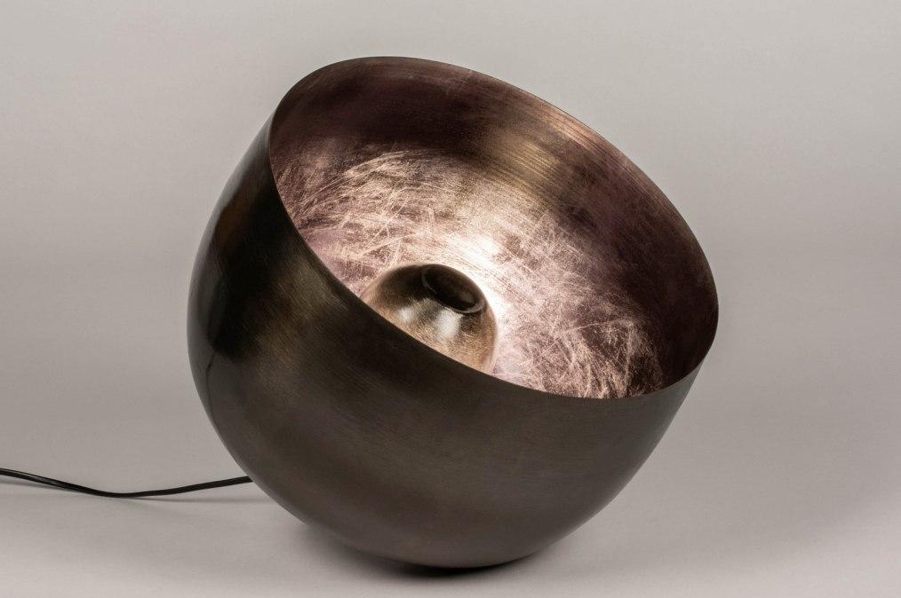 Tafellamp 13380: industrie, look, modern, stoer #0