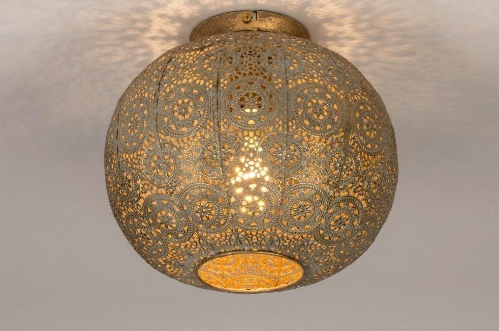 Plafondlamp 13463: landelijk, rustiek, modern, eigentijds klassiek #0