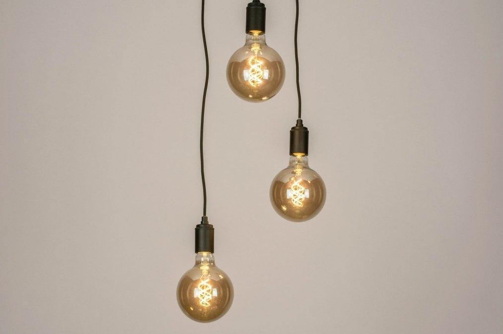 Hanglamp 13532: landelijk, rustiek, modern, metaal #0