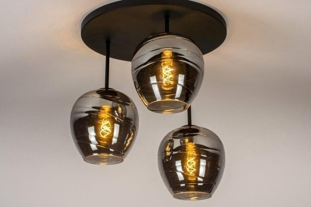 Plafondlamp 13535: modern, retro, eigentijds klassiek, art deco #0
