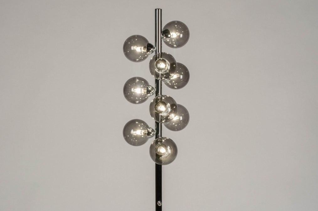 Vloerlamp 13592: modern, retro, eigentijds klassiek, art deco #0