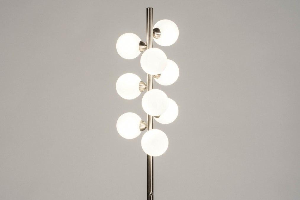 Vloerlamp 13593: modern, retro, art deco, glas #0