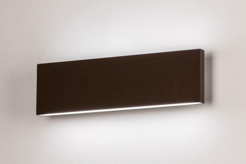 Wandlamp 13598: design, modern, aluminium, metaal #0