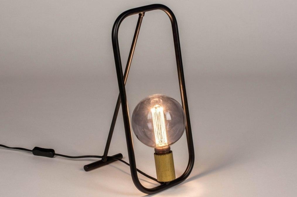 Tafellamp 13618: industrie, look, modern, metaal #0
