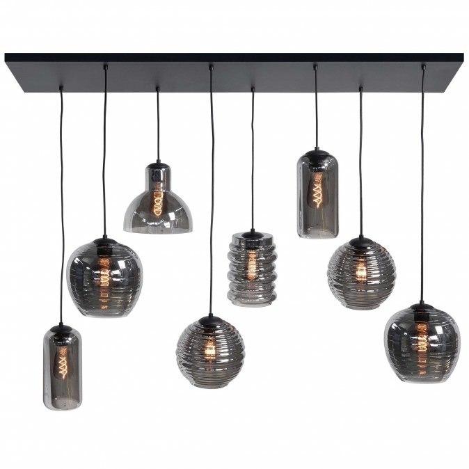 Hanglamp 13662: modern, eigentijds klassiek, glas, metaal #0