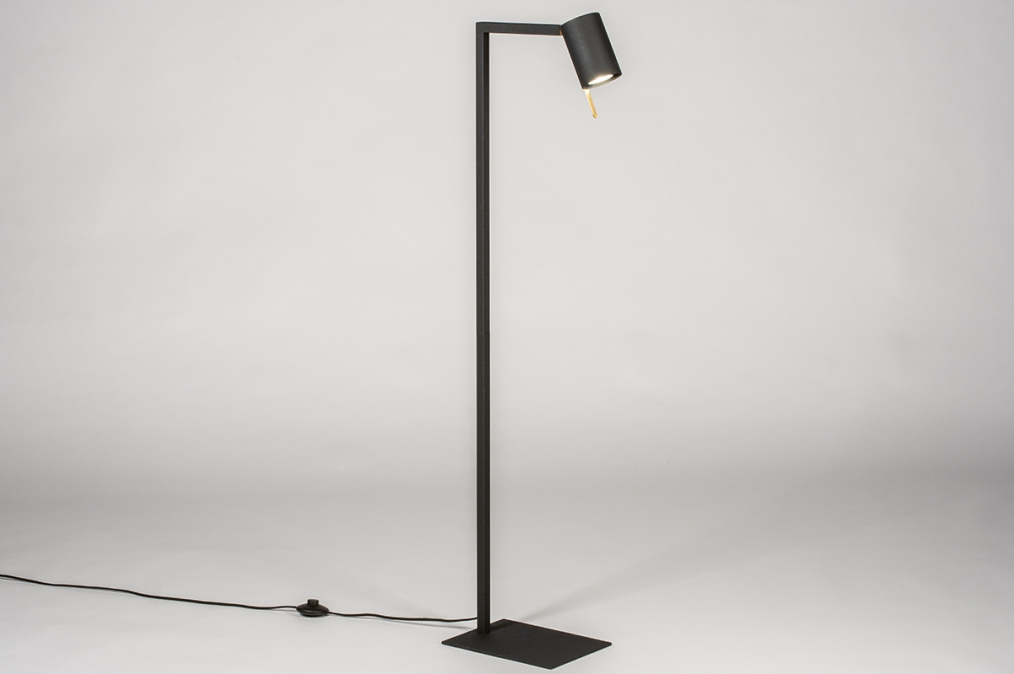 Vloerlamp 13778: industrie, look, modern, eigentijds klassiek #0