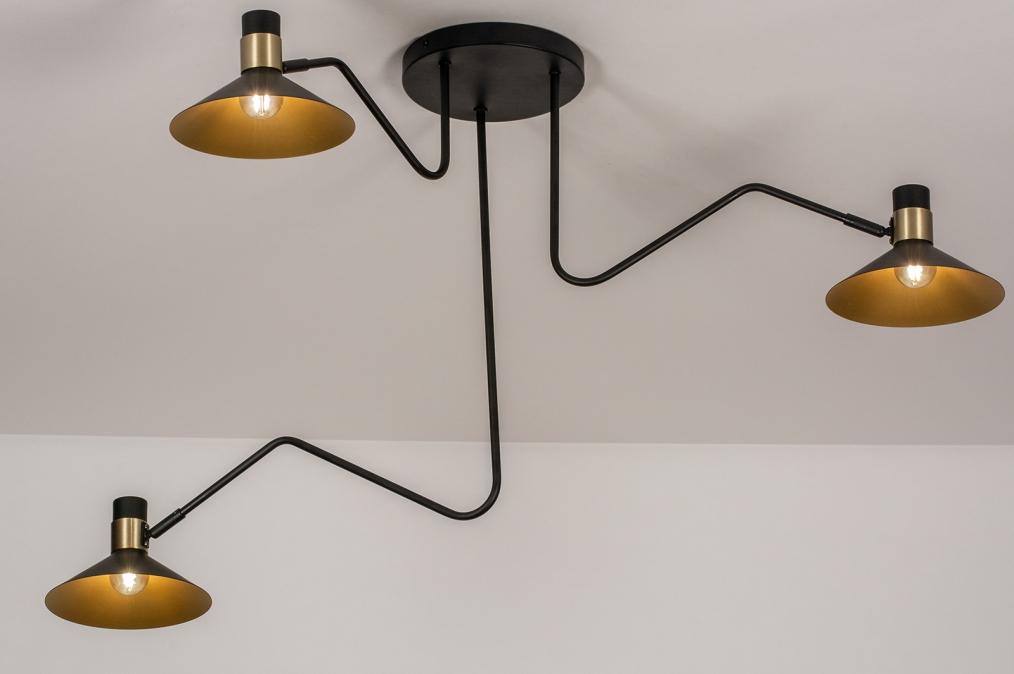 Plafondlamp 13780: modern, retro, eigentijds klassiek, art deco #0
