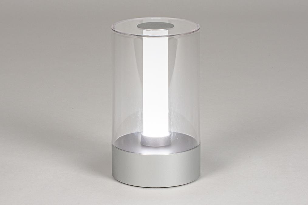 Tafellamp 13881: modern, kunststof, acrylaat kunststofglas, metaal #0