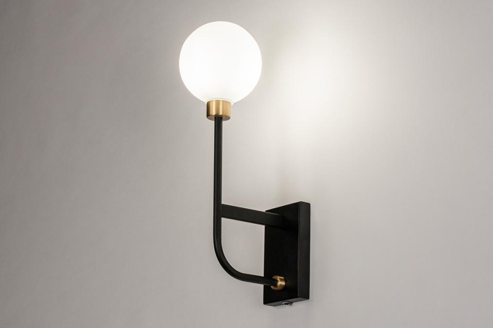 Wandlamp 13941: modern, retro, eigentijds klassiek, art deco #0