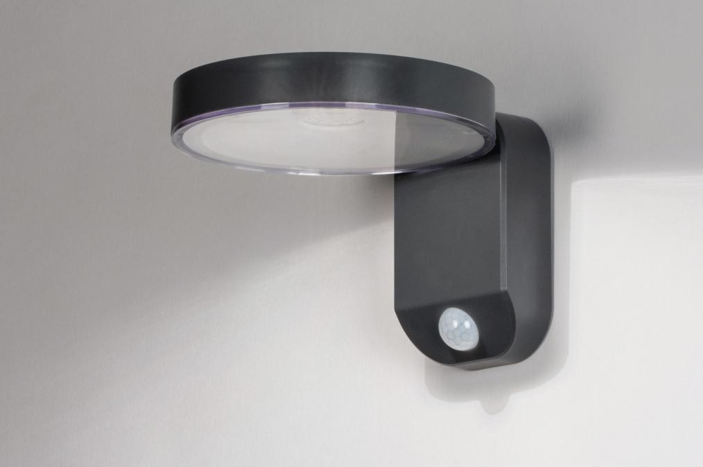Wandlamp 13952: modern, kunststof, acrylaat, kunststofglas #0