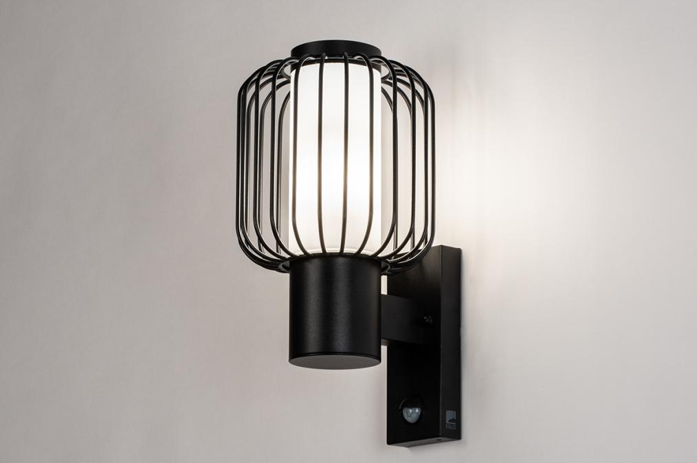 Wandlamp 13970: landelijk, rustiek, eigentijds klassiek, kunststof #0
