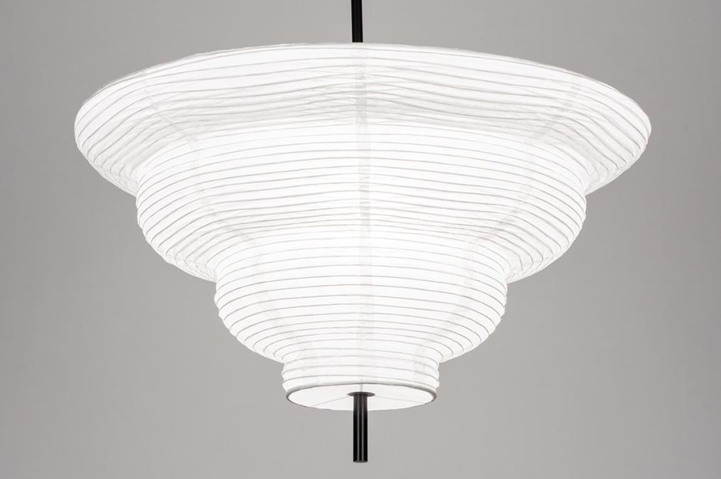 Hanglamp 13977: design, modern, wit, rond #0