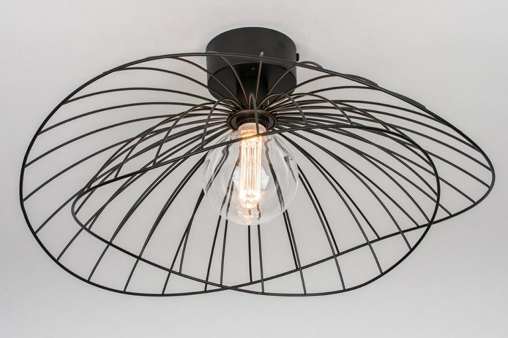Plafondlamp 13978: design, landelijk, rustiek, modern #0