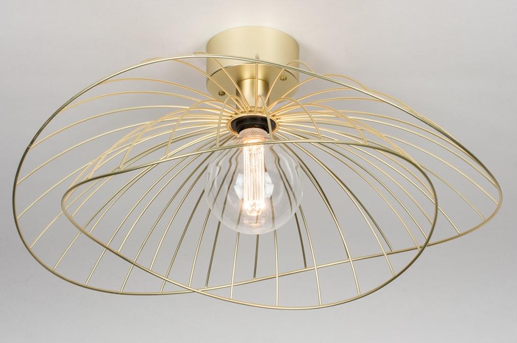 Plafondlamp 13984: design, landelijk, rustiek, modern #0